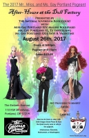 2017 Gay Portland Pageant - After Hours at the Doll Factory