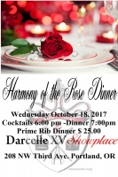 The Harmony of the Rose Awards Dinner